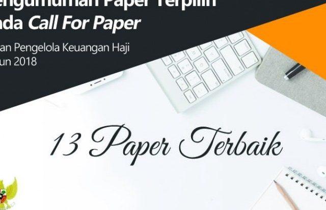 Pengumuman 13 Paper Terpilih Call For Paper BPKH